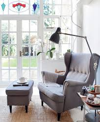 wing chairs ikea grey wingback chair strandmon in intended for armchair reviews design 18