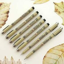 7 Set <b>Sakura Pigma Micron Pens</b>