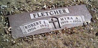 FLETCHER, MYRA - Cerro Gordo County, Iowa | MYRA FLETCHER - Iowa Gravestone  Photos