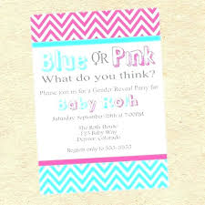 Gender Reveal Invitations Free Baby Reveal Invitations And Gender