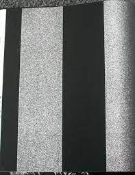 48 black and silver glitter wallpaper