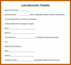 Personal Loan Agreements Magnificent Co Financing Agreement Fresh Loan Agreement Lovely Credit Agreement