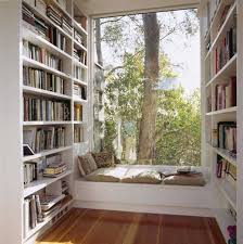 LOVE - bay window bed Nothing better than curling up near a window with a  great book ... | House | Pinterest | Window bed, Window and Books