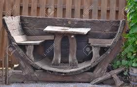furniture made from wine barrels. Garden Furniture Made From Wine Barrels, Austria Stock Photo - 67298923 Barrels C