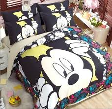 new mickey mouse twin bedding boys cool kids comforter set bed full queen king size sheets quilt cover toddler