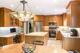kitchen ambient lighting. Recessed Lighting And This Beautiful Glass Lamp Create An Inviting Ambient Light Layer. Kitchen