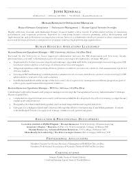 Sample Human Resource Resumes Sample Hr Resumes For 1 Year Experience Business Partner Resume
