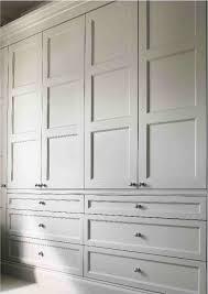 built in cupboards cozy bedroom wardrobe doors