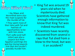 king tut by emma l ppt video online  3 king