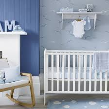 nursery with white furniture. Play With Pattern | Nursery Decorating Ideas PHOTO GALLERY Ideal Home White Furniture T