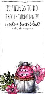 30s Milestone Birthday Bucket List The Haywire Honey
