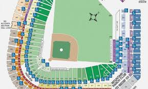 Washington Nationals Seating Chart Detailed Washington Nationals Seat Map Wrigley Field Concert Map