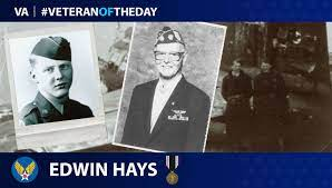 VeteranOfTheDay Army Air Forces Veteran Edwin W. Hays - VAntage Point