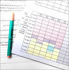 Revision Plan Template Fresh School Class Timetable Template Format ...