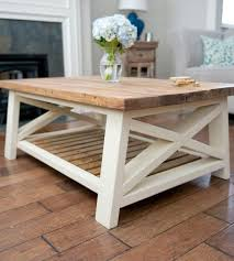 rustic furniture edmonton. Angled Rustic X Coffee Table Love The Wood Top And Cream Colored Base Furniture Edmonton U