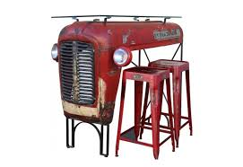 F Upcycled Massey Ferguson Tractor Furniture