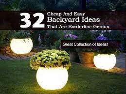 Bedroom  Astounding Above Ground Pool Backyard Ideas Cool Budget Cheap Small Backyard Ideas
