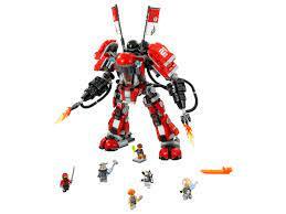 LEGO® The LEGO Ninjago Movie - Kai's Feuer-Mech 70615 (2017) | LEGO®  Preisvergleich brickmerge.de