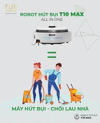 Robot hút bụi lau nhà có thể tự giặt khăn lau đầu tiên tại Việt Nam