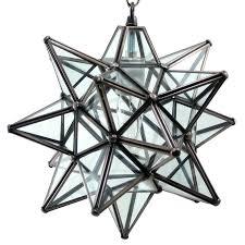 moravian star ceiling light star pendant light clear glass bronze frame moravian star ceiling light uk