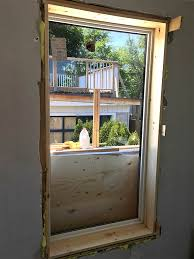 how to cut out an egress window