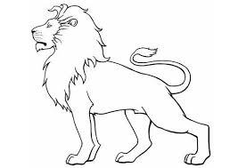Kleurplaat Leeuw Patterns Templates 3 Lion Coloring Pages