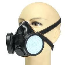 spray paint respirator mask full face