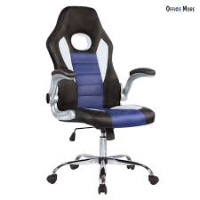 office bucket chair. Executive Racing Bucket Gaming Office Desk Chair Swivel Ergonomic PU Leather