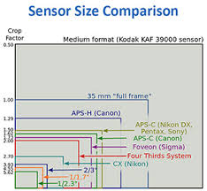 Image Sensor Size Comparison Chart Sensor Size Comparison Chart Weekend