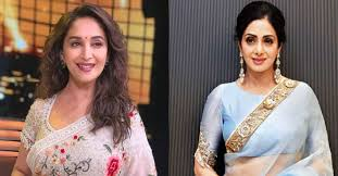 Image result for Madhuri Dixit and Sridevi