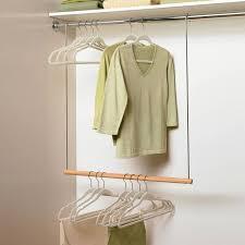 adjule closet rod hanging