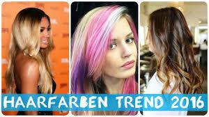 Haarfarben Trend 2016 Youtube