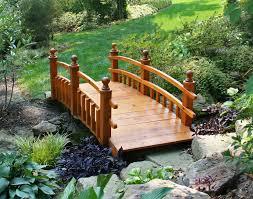 Japanese Style Garden Bridges Modren Japanese Wooden Garden Bridge R On Decor
