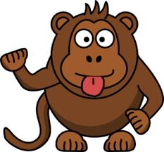 com At Monkey Clker Art Vector Online Cheeky Clip Uwtq7T1qX
