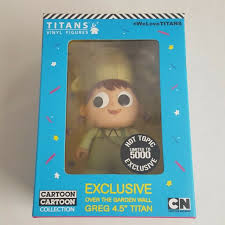 titans cartoon network series 2 greg frog 3 vinyl over the garden wall figures