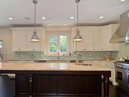 Stunning Kitchen Backsplash Glass Tile Dark Cabinets Images Plan