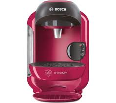 Currys Small Kitchen Appliances Buy Tassimo By Bosch Vivy Ii Tas1251gb Hot Drinks Machine Pink