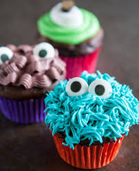 Eclectic Recipes Monster Cupcakes Eclectic Recipes