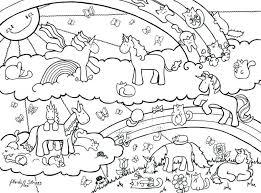Rainbow Coloring Pages For Preschool Elegant Unicorn Rainbow