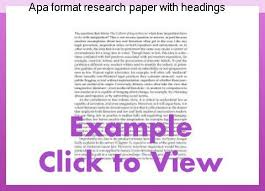 how to format research paper apa format research paper with headings custom paper service