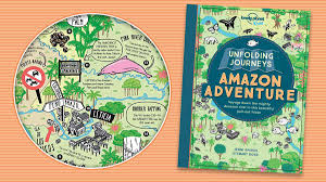 unfolding journeys amazon adventure fold out book from lonely planet kids is out now fun kids the uk s children s radio station