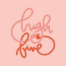 High Five Design High Five Lettering Tyler Elises Portfolio