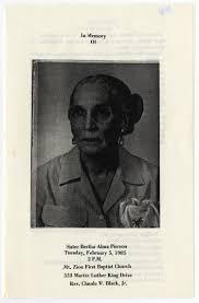 [Funeral Program for Bertha Alma Pierson, February 5, 1985] - The ...