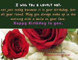 Beautiful Quotes For Her Birthday Best of 24 Brilliant Pictures Of Happy Birthday Wishes With Grateful