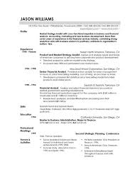 Gallery Of Resume Examples Example Of Resume By Easyjob The Best
