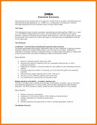 executive business plan template how to write anutive summary for business plan example format park