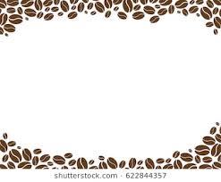 coffee beans border clipart. Modren Coffee Coffee Beans On A White Background To Beans Border Clipart E