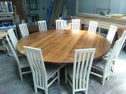 extra large round dining table tables hoop base bespoke chunky top t