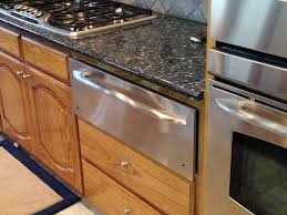 double oven with warming drawer new kitchen features ambassador homes