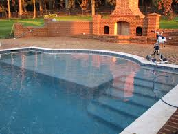 Walk In Pools Pool Tanning Ledge Built By Blue Haven Pools Pools Pinterest